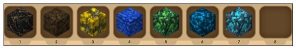 迷你世界矿石分布图 矿石大全