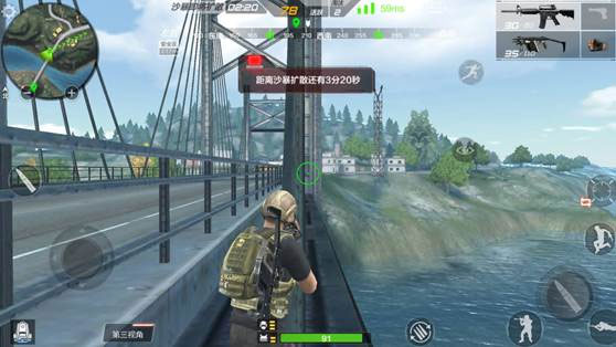 CF手游守桥3