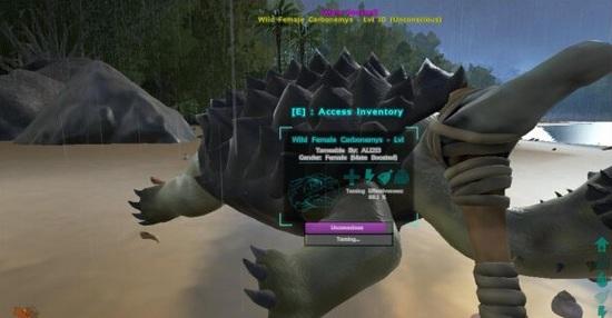 方舟生存进化怎么驯服恐龙