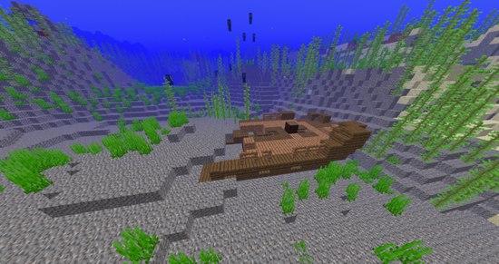我的世界沉船有什么