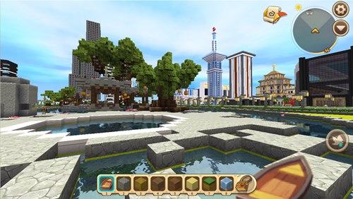 迷你世界创造存档:大型城市 好玩存档分享
