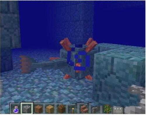 我的世界海底遗迹有什么东西