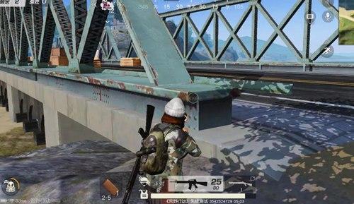 荒野行动堵桥技巧