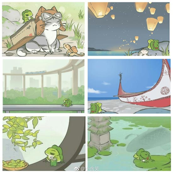 《旅行青蛙:中国之旅》明信片曝光
