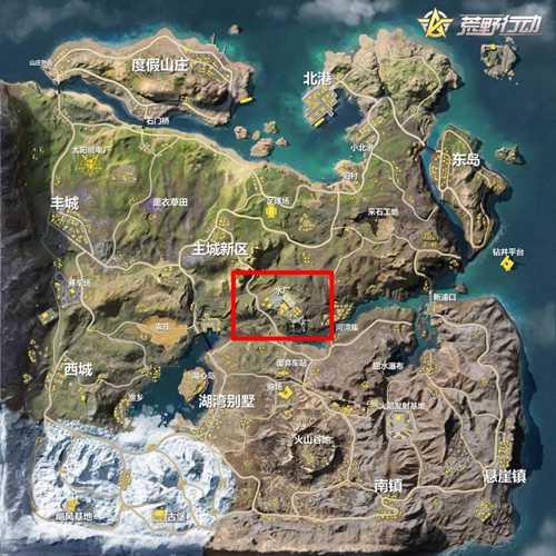 荒野行动水厂地图解析