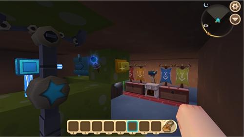迷你世界推拉机械臂隐藏地下室怎么做 推拉机械臂隐藏地下室教程