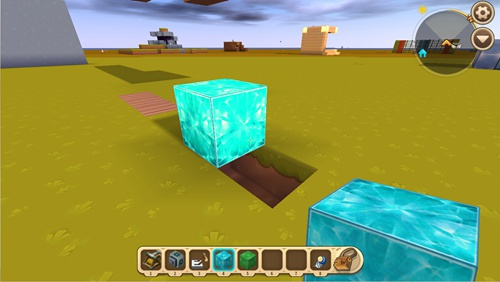 迷你世界教你让方块重叠 怎么做重叠方块