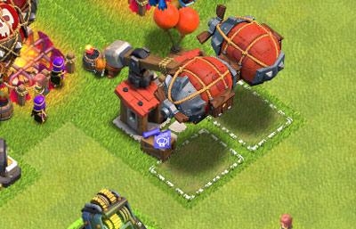 部落冲突攻城机器工坊升级所需时间资源等详细数据