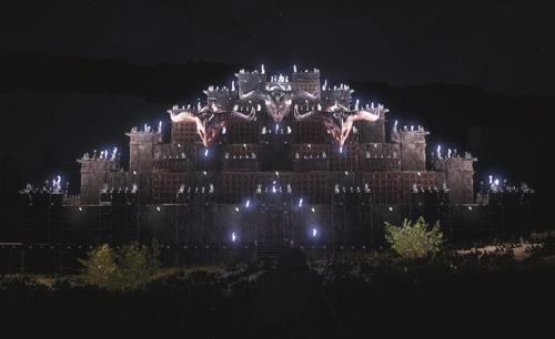 《蛮王柯南》城堡