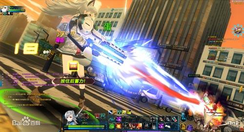 网游《封印者》战斗画面
