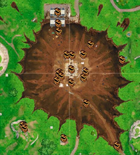 堡垒之夜手游废弃草地资源介绍 落点及战斗技巧分享