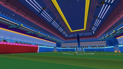 夜空足球赛1