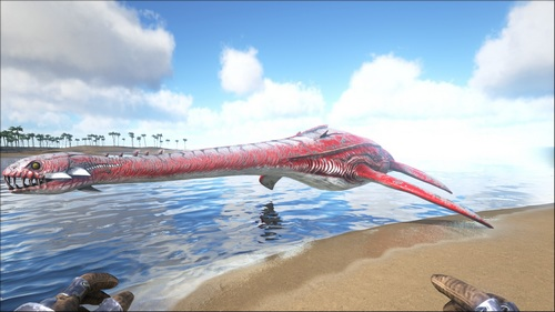 方舟生存进化蛇颈龙