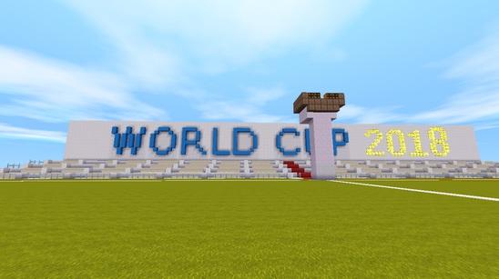 迷你世界对战存档:热血世界杯2018 好玩存档分享
