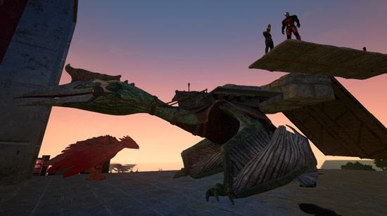方舟生存进化风神翼龙怎么驯