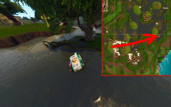 堡垒之夜手游泥泞沼泽资源介绍 落点及战斗技巧分享