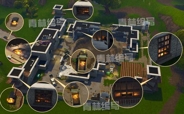 堡垒之夜手游野区监狱资源介绍 打法宝箱购物车介绍