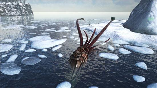 方舟生存进化手机版托斯特巨鱿怎么驯服