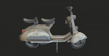绝地求生刺激战场小型摩托车
