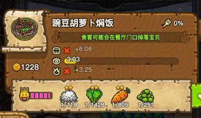 黑暗料理王豌豆胡萝卜焖饭