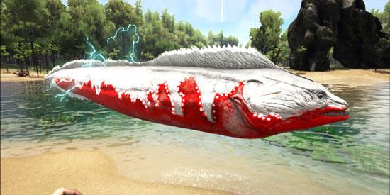 方舟生存进化电鳗怎么驯服