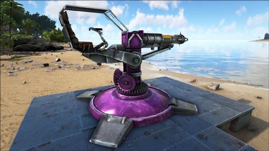方舟生存进化火箭炮塔