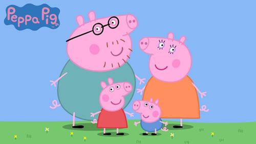 佩奇和家人
