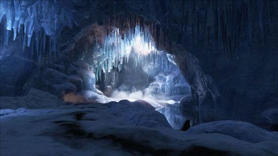 方舟生存进化雪山大矿洞