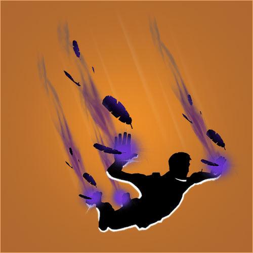 堡垒之夜手游暗黑翎羽怎么得 暗黑翎羽下降轨迹介绍