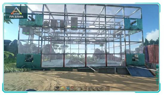 方舟生存进化温室大棚搭建方法