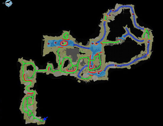 方舟生存进化沼泽矿洞路线