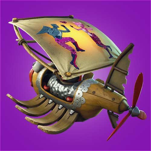 堡垒之夜手游滑翔机皮影怎么得 皮影滑翔伞介绍