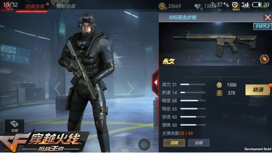 CF手游M6突击步枪分析