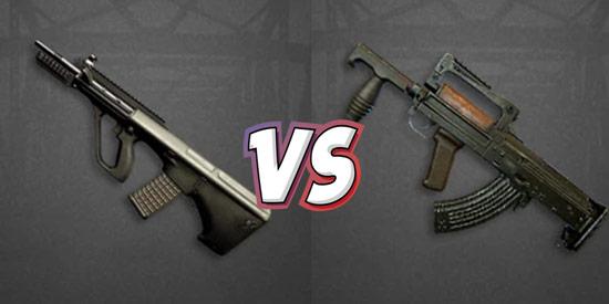 全军出击枪械对比