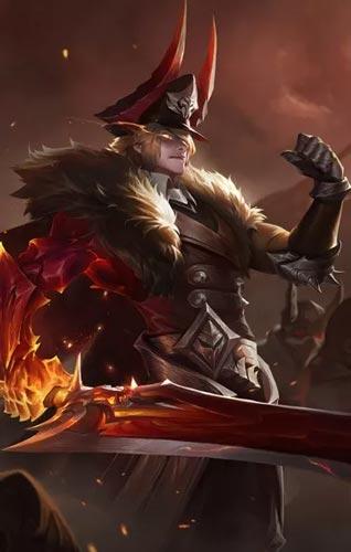 王者荣耀李信灼热之刃