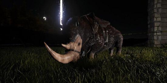 方舟生存进化披毛犀角有什么用