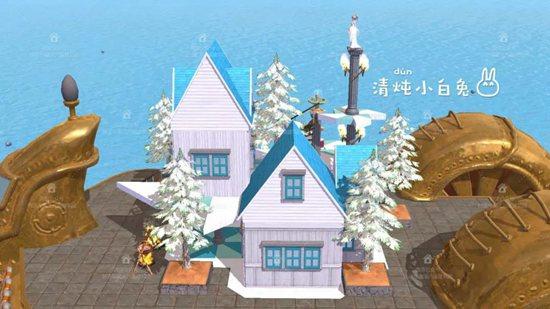创造与魔法船·沐风居设计图 船·沐风居平面设计图纸