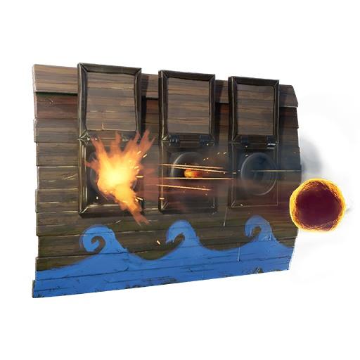 堡垒之夜新道具曝光 墙炮陷阱和爆炸弓箭