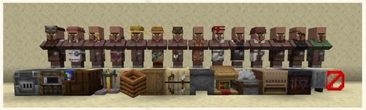 国服版7月4日村庄版本的更新,你还可以在游戏中体验当一回村长的感觉,组织村民们的作息、繁衍生息,当灾厄村民与劫掠兽袭击出现的时候,还要保护好村庄!
