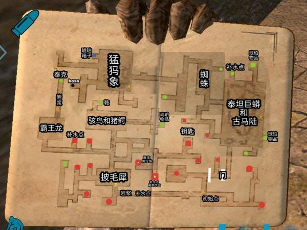 龙族幻想地牢地图