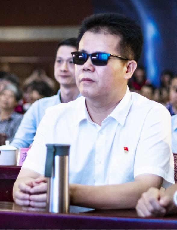 中国盲协副主席,福建省残疾人联合会兼副理事长王永澄