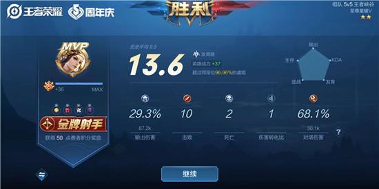 王者荣耀S21赛季虞姬上分攻略